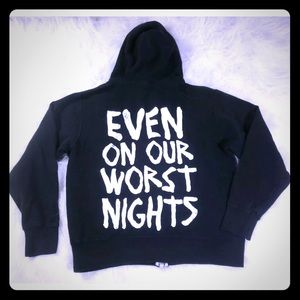 Paranormal Hoodie Even on our Worst Nights Jacket